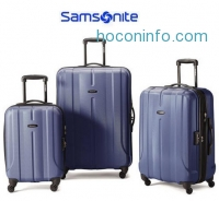 ihocon: Samsonite Luggage Fiero HS 3 Piece Nested Set