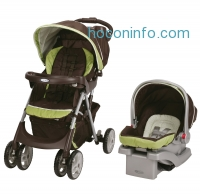 ihocon: Graco 嬰兒推車+ 汽車座椅 Comfy Cruiser Click Connect Travel System