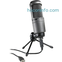 ihocon: Audio-Technica Condenser USB 麥克風 Microphone AT2020USB