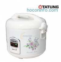 ihocon: TATUNG 電子飯鍋 10 Cups (Uncooked)/20 Cups (Cooked) Electric Rice Cooker TRC-10DC