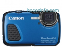 ihocon: Canon - PowerShot D-30 12.1-Megapixel Waterproof Digital Camera