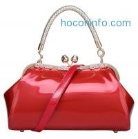 ihocon: Avber Bag Work Place Patent Stereotypes Leather Handbag