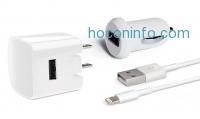 ihocon: Delton Apple-Certified 4 ft. Three-Piece Lightning Charging Kit