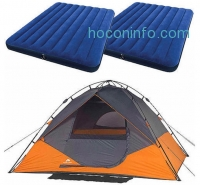 ihocon: Ozark Trail 6-Person Instant Dome Tent + 2 Queen Airbeds