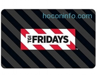 ihocon: $50 TGI Fridays Gift Cards只賣$40- E-mail Delivery