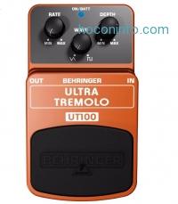 ihocon: Behringer UT 100 Ultra Tremolo Guitar Effects Pedal