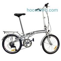 ihocon: Folding Bike 20 Shimano 6 Speed Bike