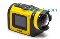ihocon: Kodak SP1 防水耐震運動攝像機 Water/Shock/Freeze/Dust Proof FHD 1080p Digital Action Camera + Explorer Pack