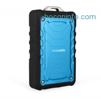 ihocon: Coocheer® 7500mAh Power Bank Waterproof Dustproof Shockproof Travel Charger With Dual USB Port