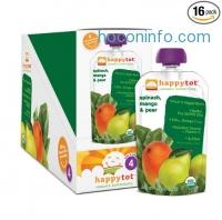 ihocon: Happy Tot 有機嬰兒食物 Organic Baby Food (Pack of 16)