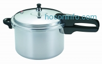 ihocon: Mirro 92160A Polished Aluminum Pressure Cooker, 6-Quart, Silver
