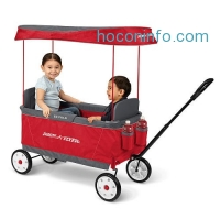 ihocon: Radio Flyer Kid's Ultimate EZ The Best Folding Wagon Ride On