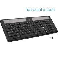 ihocon: Xcellon 無線太陽能鍵盤 Wireless Solar Keyboard
