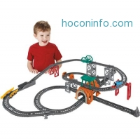 ihocon: Fisher-Price Thomas & Friends TrackMaster 5-in-1 Track Builder Set