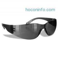 ihocon: Rugged Blue SC-260 Polycarbonate Diablo Safety Glasses, Gray