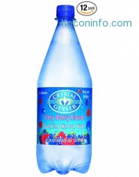 ihocon: Crystal Geyser Sparkling Mineral Water, Berry, 1.25 Liter (Pack of 12)