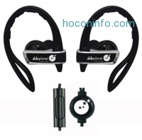 ihocon: Able Planet SI350 True Fidelity Sport In Ear/Hook Headphones with Microphone and Remote, Black