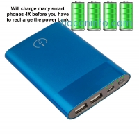 ihocon: Zoom Power Bank - External Cell Phone Battery Pack - Provides 80 Hrs Talk-time/320 Hrs Audio Playback For Most Cell Phone Batteries