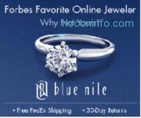 Blue Nile: 各式首飾15% off + 免運費