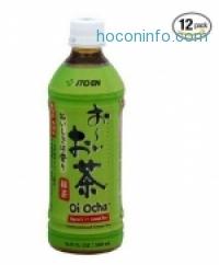 ihocon: 12瓶 Ito En Oi Ocha 綠茶 Green Tea, 16.9-Ounce Bottles