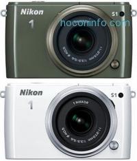 ihocon: Nikon 1 S1 10.1MP Digital Camera with 11-27.5mm Lens (Manufacturer refurbished) - 3色可選