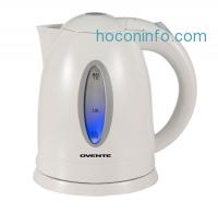 ihocon: Ovente KP72W Cordless Electric Kettle, 1.7-Liter