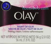 ihocon: Olay 夜用緊膚霜  Night Of Olay Firming Cream, 2.0 oz., 3罐