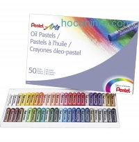ihocon: Pentel Arts Oil Pastels, 50 Color Set