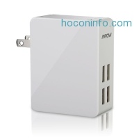 ihocon: Mpow 25W/5A 4-Port Ultra Portable multiple USB Wall Charger