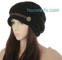 ihocon: Oryer Lady's Stylish Knit Snow Hat Warm Knit Beanie Cap Beret Hat
