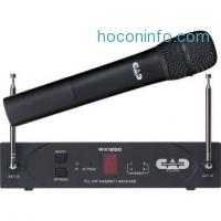 ihocon: CAD StagePass WX1200 VHF 無線麥克風系統 Wireless Handheld System