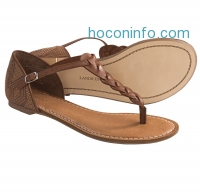 ihocon: Lands' End Amelia Thong Sandals - Leather (For Women) - 4色可選