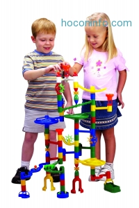 ihocon: Edushape Marbulous Marble Run - 82 Pieces plus Bonus of 50 Marbles