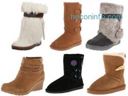 Amazon: BEARPAW女靴Eva Short 才$36.79免運