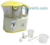 ihocon: Kalorik Chopper/Baby Food Maker, White/Yellow, 2-Cup