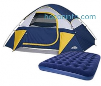 ihocon: Northwest Territory 4-Person Tent with Air Bed Bundle
