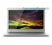 ihocon: Toshiba CB35-B3340 13.3 Inch Chromebook (Intel Celeron, 4GB, 16GB SSD, Silver) Full HD-Screen