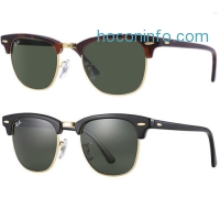 ihocon: Ray Ban 雷朋太陽眼鏡 Clubmaster Sunglasses (G-15XLT Lens) - 49mm RB3016
