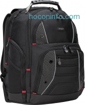 ihocon: Targus Drifter II Backpack for 17-Inch Laptop, Black/Perforated