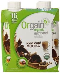 ihocon: Orgain 綠色有機營養飲品 Iced Caf Mocha, 11-Ounce (Pack of 12)