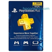 ihocon: PlayStation Plus 1年會員 12 Month Live Subscription Card