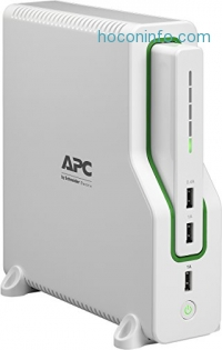ihocon: APC Back-UPS Connect Lithium Ion UPS with Mobile Power Pack, USB Charging Ports for Echo and Network Routers (BGE50ML)