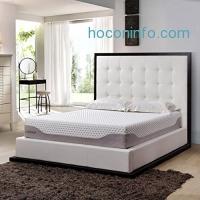 ihocon: LANGRIA 10-Inch Cool Gel-Infused Memory Foam Mattress, Full Size冷凝膠記憶棉床墊