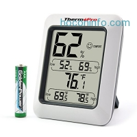 ihocon: ThermoPro TP50 Hygrometer Thermometer Indoor Humidity Monitor温度, 濕度計