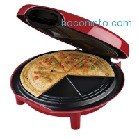 ihocon: George Foreman GFQ001 Quesadilla Maker, Red