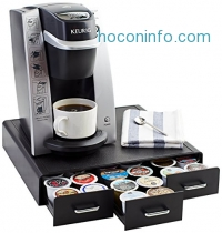 ihocon: AmazonBasics Coffee Pod Storage Drawer for K-Cup Pods - 36 Pod Capacity膠囊咖啡收納抽屜