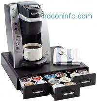 ihocon: AmazonBasics Coffee Pod Storage Drawer for K-Cup Pods - 36 Pod Capacity膠囊咖啡收納抽屜