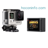 ihocon: GoPro HERO4 Silver Edition Camera w Built-in LCD Screen (Manufacturer Refurbished)