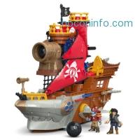 ihocon: Fisher-Price Imaginext Shark Bite Pirate Ship Playset