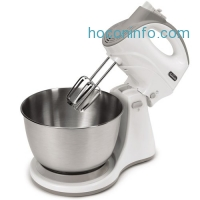 ihocon: Sunbeam FPSBHS0301 250-Watt 5-Speed Hand and Stand Mixer Combo, White